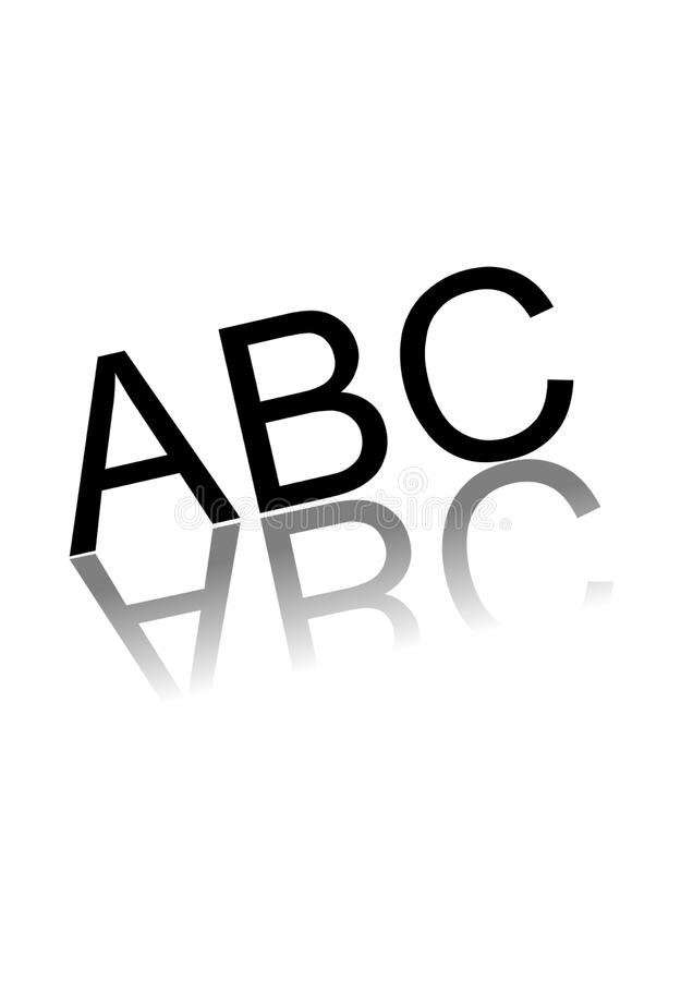 ABC stockbild