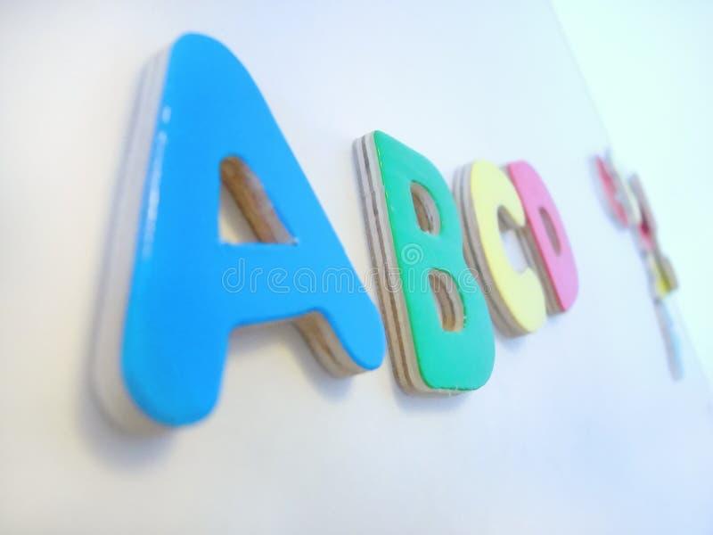 Abc. royalty-vrije stock foto