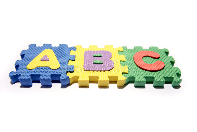 ABC fotografia de stock royalty free