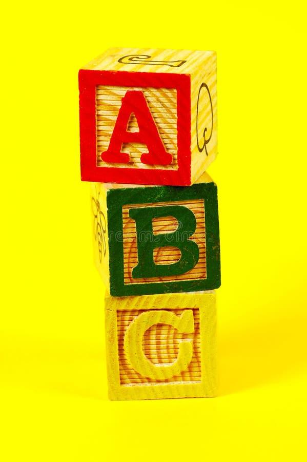 Abc Στοκ φωτογραφία με δικαίωμα ελεύθερης χρήσης