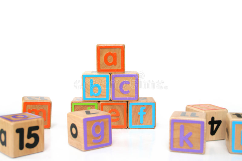 ABC imagem de stock royalty free