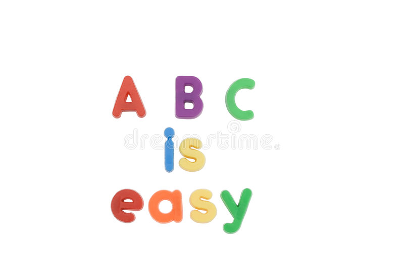 ABC stock afbeelding