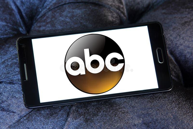 abc Amerikan Radioutsändning Företag logo royaltyfri illustrationer