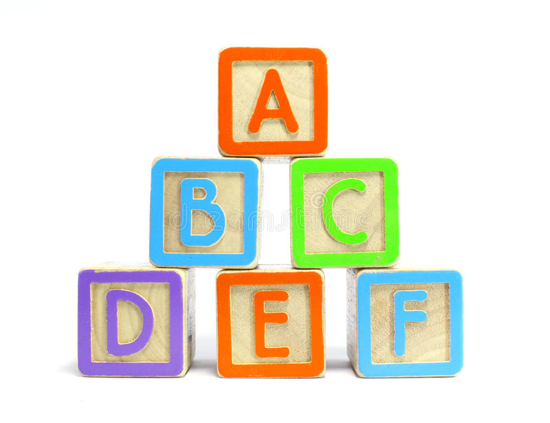 Download ABC Blocks stock image. Image of concept, blue, educate - 20694023