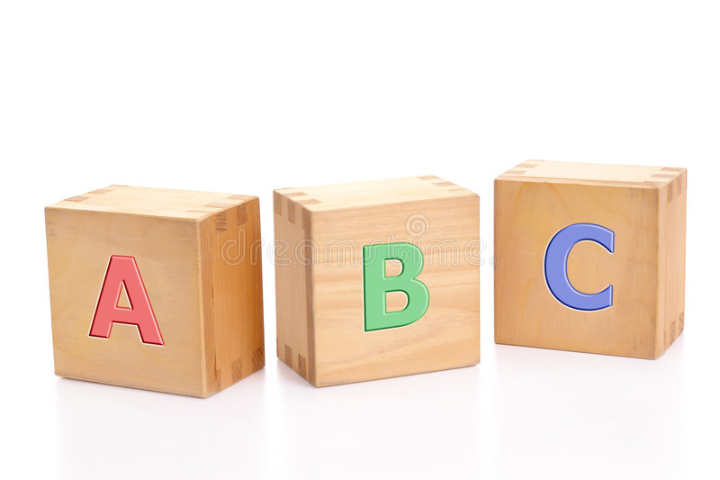 Download ABC blocks stock image. Image of white, reading, concept - 4251337