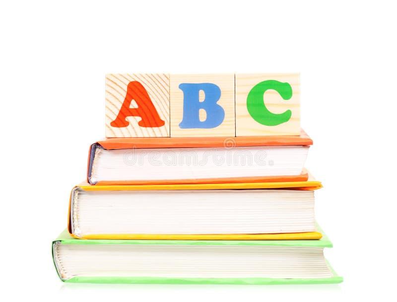 ABC blocks stock images