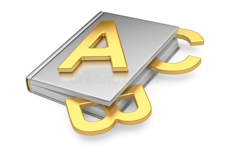 ABC Book Royalty Free Stock Photography