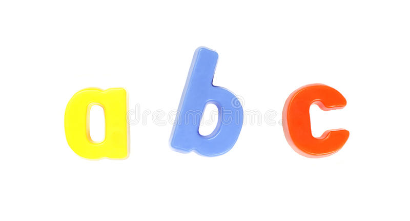 ABC, Colorful Set of Letters stock photography