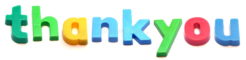 ABC Fridge magnet letters stock image