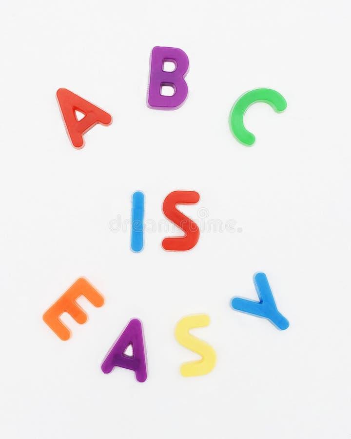 ABC het Engels stock afbeeldingen