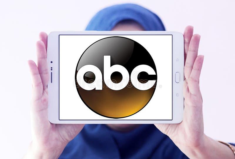 ABC, logo di Broadcasting Company Americana fotografia stock libera da diritti