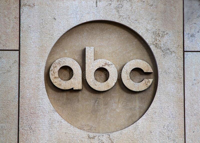 ABC logo stock image
