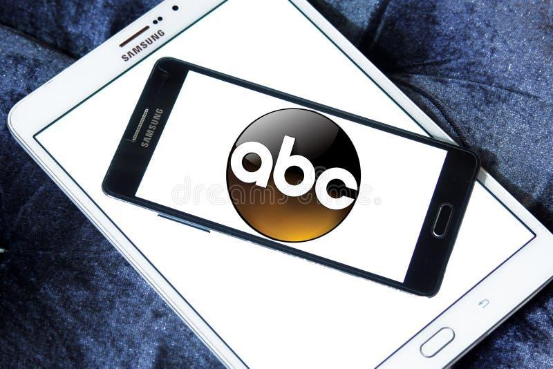 ABC, logotipo americano de la compañía de radiodifusión stock de ilustración