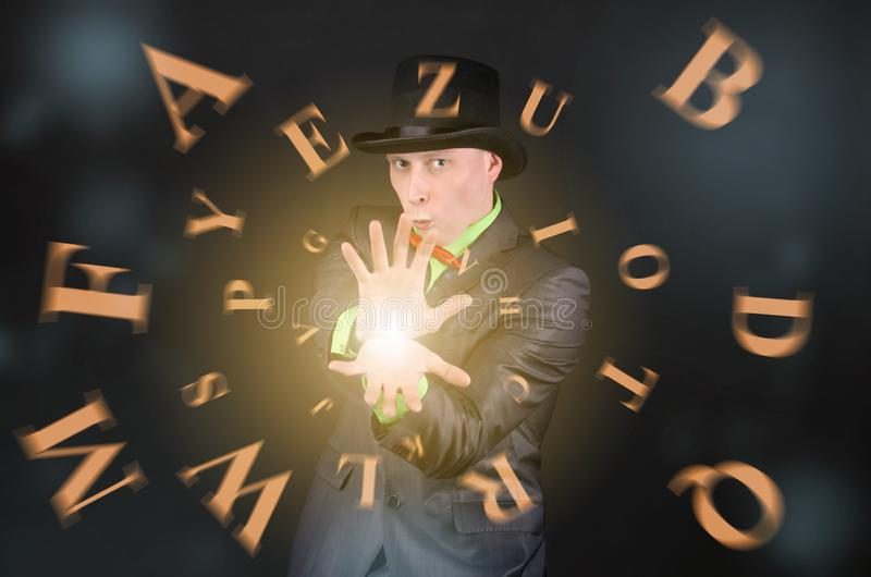 ABC-Magie stockbild