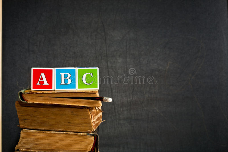 Download ABC On Old Textbook Royalty Free Stock Photography - Image: 20374177