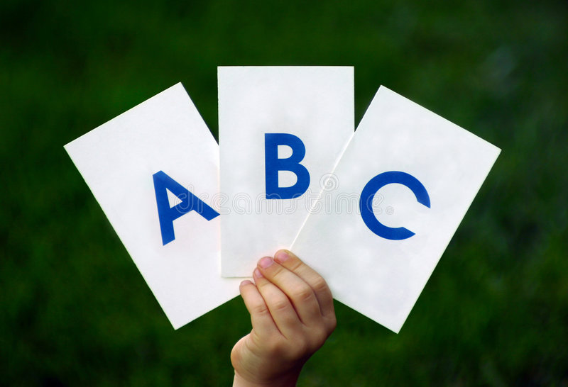 abc s στοκ εικόνα