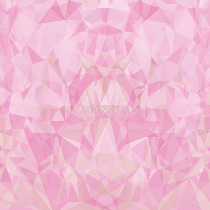 abctractrosa färgbakgrund stock illustrationer