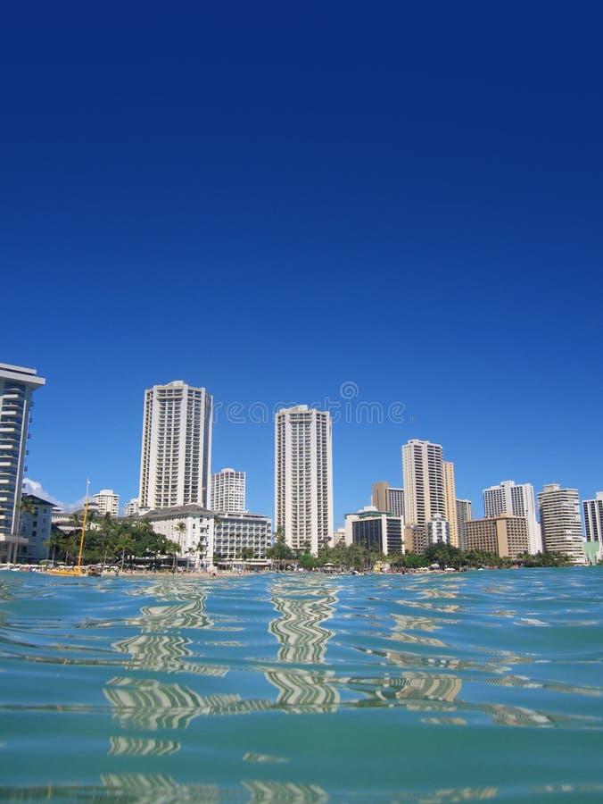 Download Abd Waikiki θερέτρων ξενοδοχείων της Χαβάης Στοκ Εικόνες - εικόνα από μεγάλη, χρώμα: 22781172