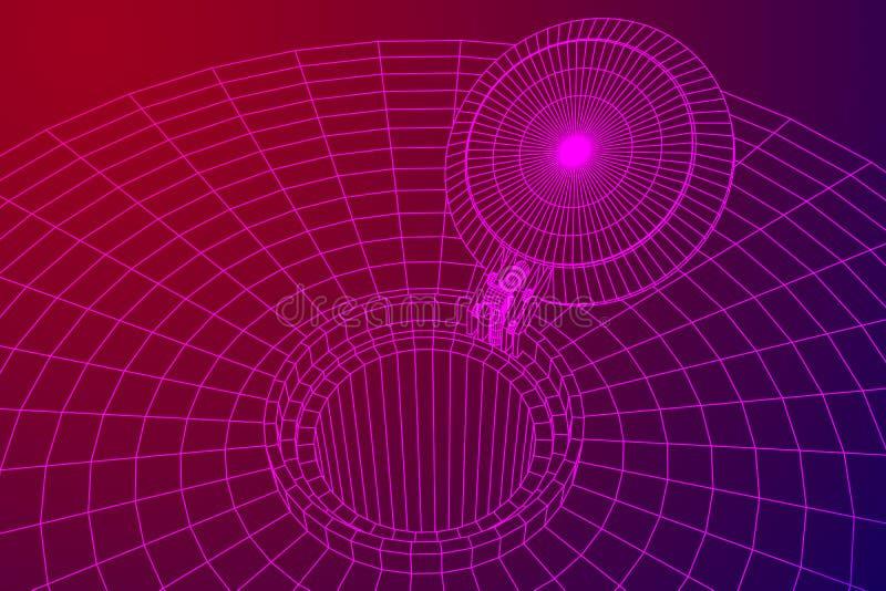 Abdeckungsraketensilo vektor abbildung