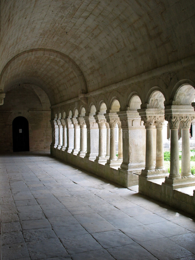 Abdij van Senanques in Frankrijk. royalty-vrije stock foto