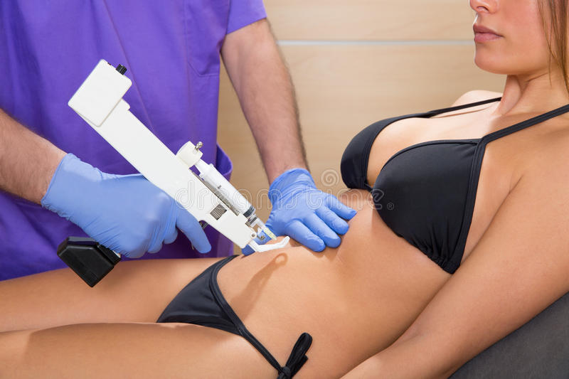 Download Abdominal Mesotherapy Gun Therapy Doctor To Woman Stock Photo - Image of physician, medical: 29830624