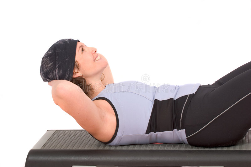 Abdominals images stock