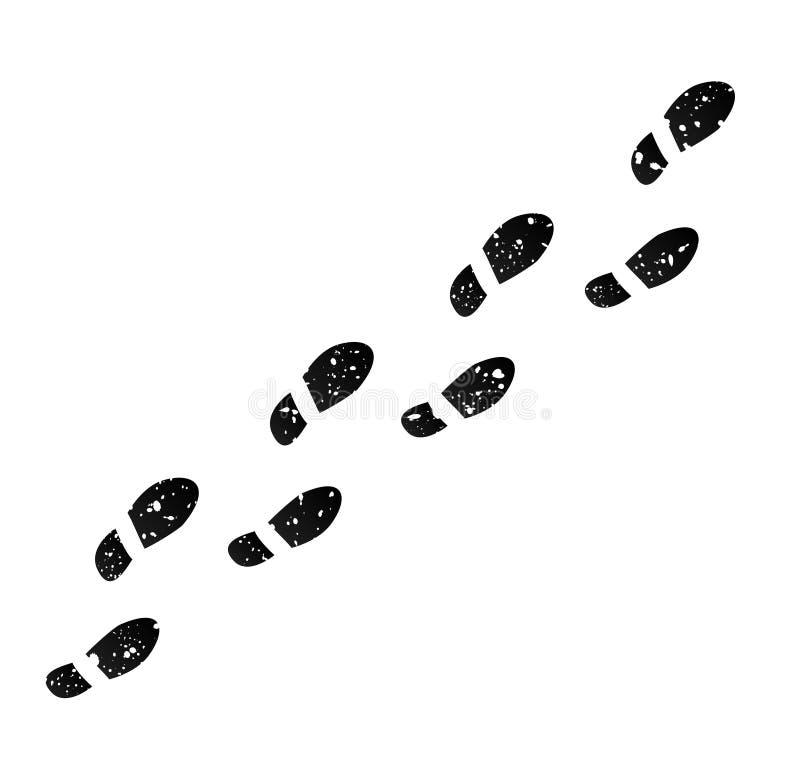 Abdrücke 2 vektor abbildung