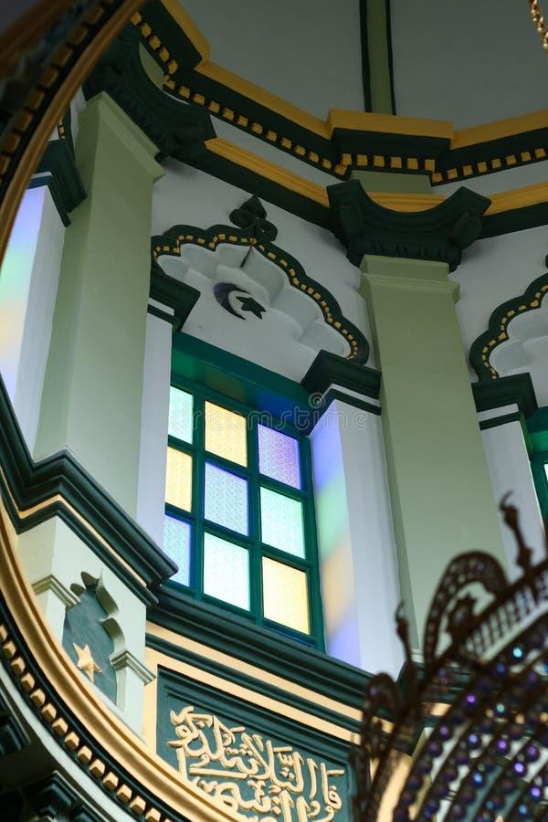Abdul Ghafoor Mosque, Singapore. The Abdul Ghafoor Mosque in Singapore. Shot in March 2011 stock photo