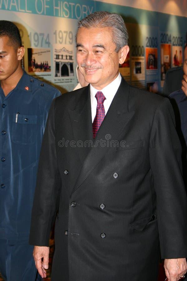Abdullah Ahmad Badawi royaltyfria foton