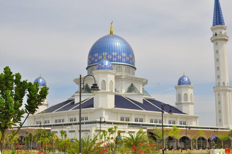 Abdullah Fahim Mosque que carrega o nome do pai do 5o primeiro ministro de Malásia foto de stock
