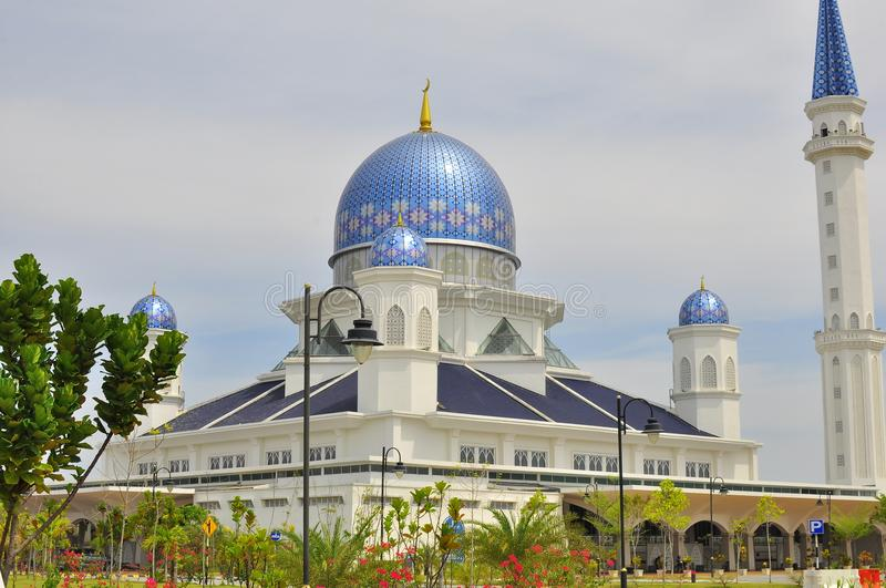 The Abdullah Fahim Mosque which bears the name of the father of the 5th Prime Minister of Malaysia stock photo