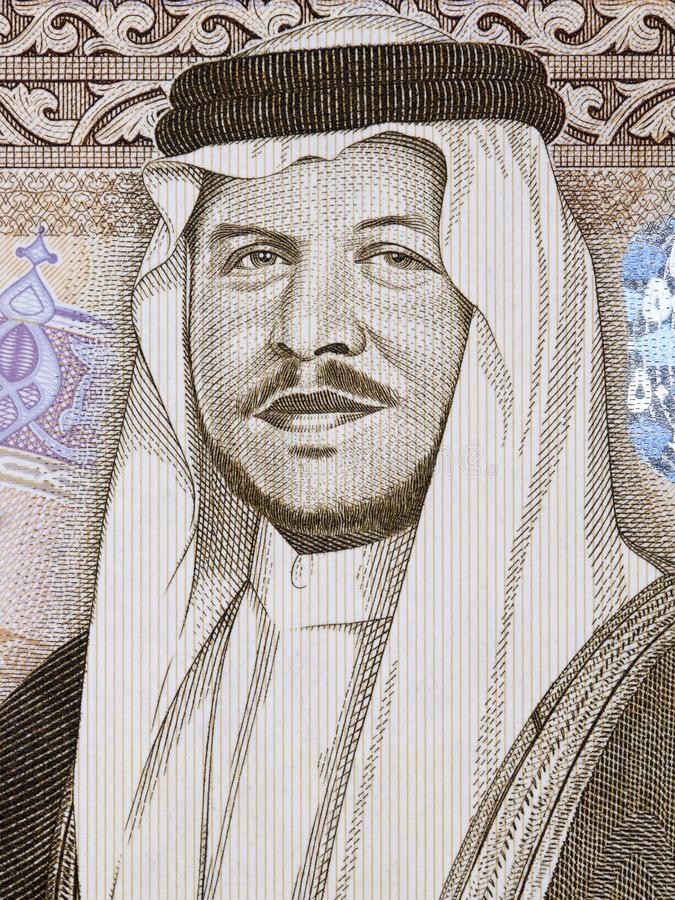 Abdullah II bin Al-Hussein a portrait royalty free stock photos