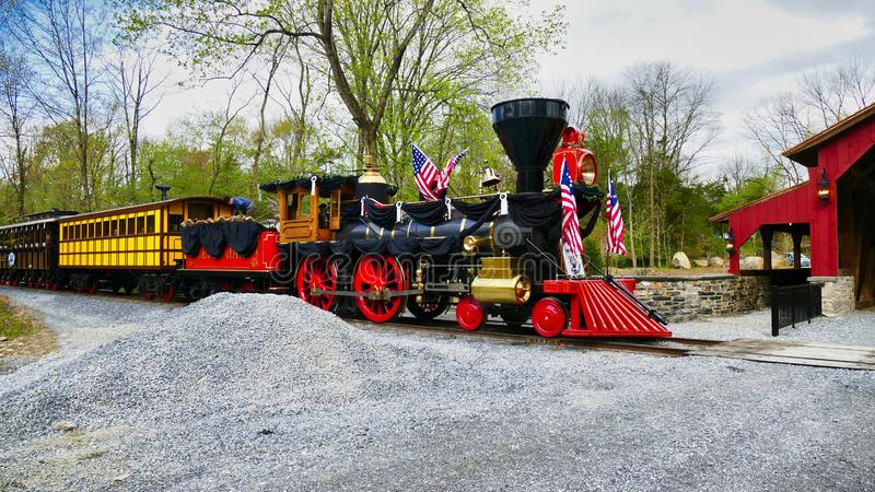 Abe Lincoln Funeral Train photographie stock