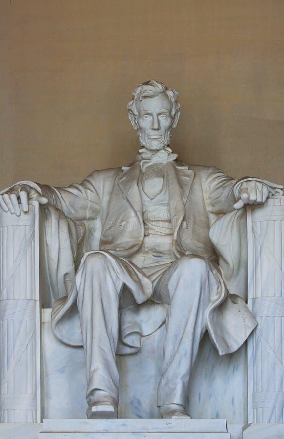 Abe lleno en monumento imagen de archivo libre de regalías