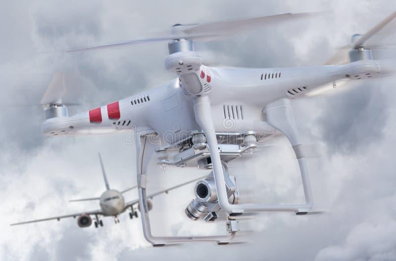 Abejón y aeroplano foto de archivo libre de regalías