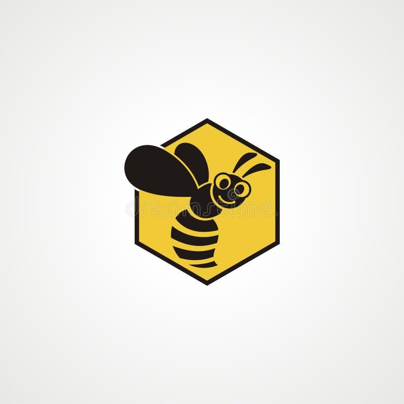 Download Abeja Logo Concept ilustración del vector. Ilustración de concepto - 100529693