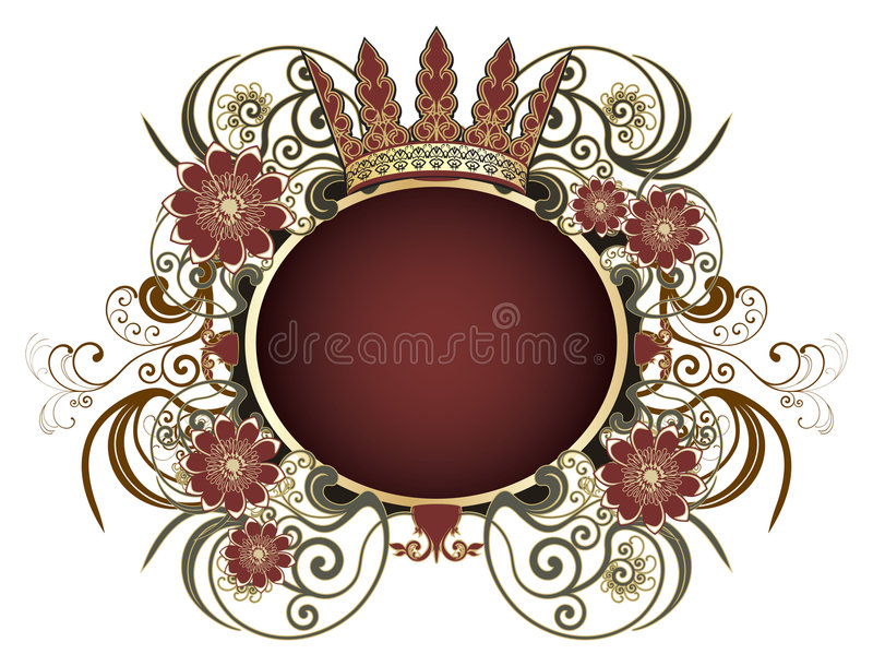 abel heraldiskt sätttecken royaltyfri illustrationer