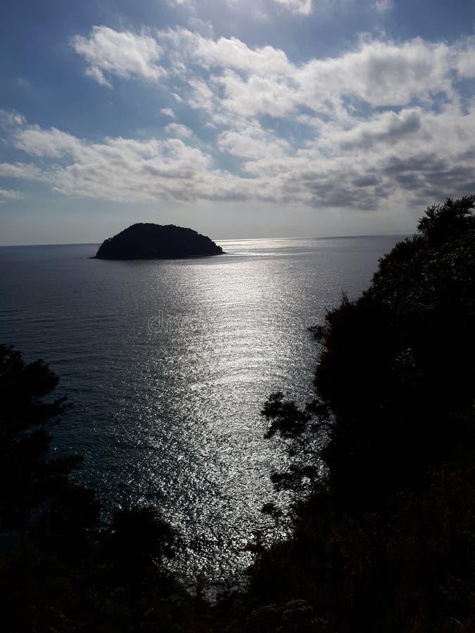 Abel Tasman wybrzeża ślad Nowa Zelandia zdjęcie stock