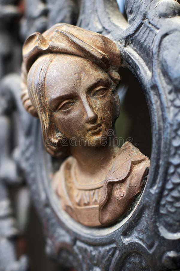 Abelard och Heloise älskar berömd riktig berättelse för passion ändlöst evigt royaltyfri foto
