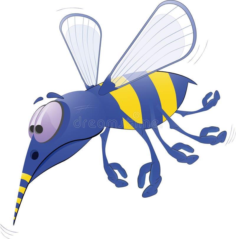A abelha ilustração do vetor