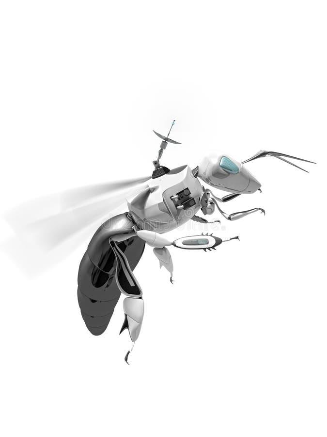 Abelha ilustração do vetor