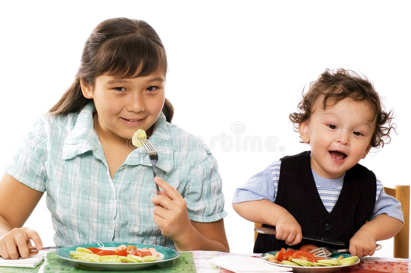 Abendessen! lizenzfreies stockfoto