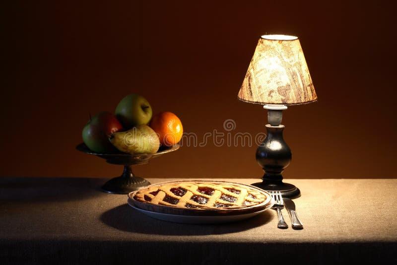 Abendnachtisch lizenzfreies stockbild