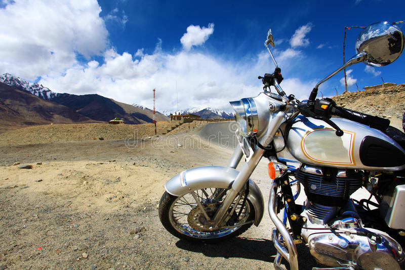 Abenteuer auf Fahrrad lizenzfreies stockbild