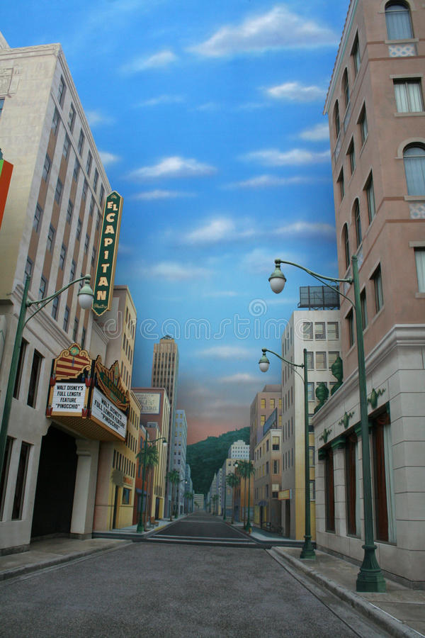 Abenteuer Disney-Kalifornien lizenzfreie stockfotos