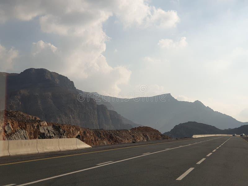 Abenteuer und Unterhaltung in Ras Al Khaimah UAE stockfotos