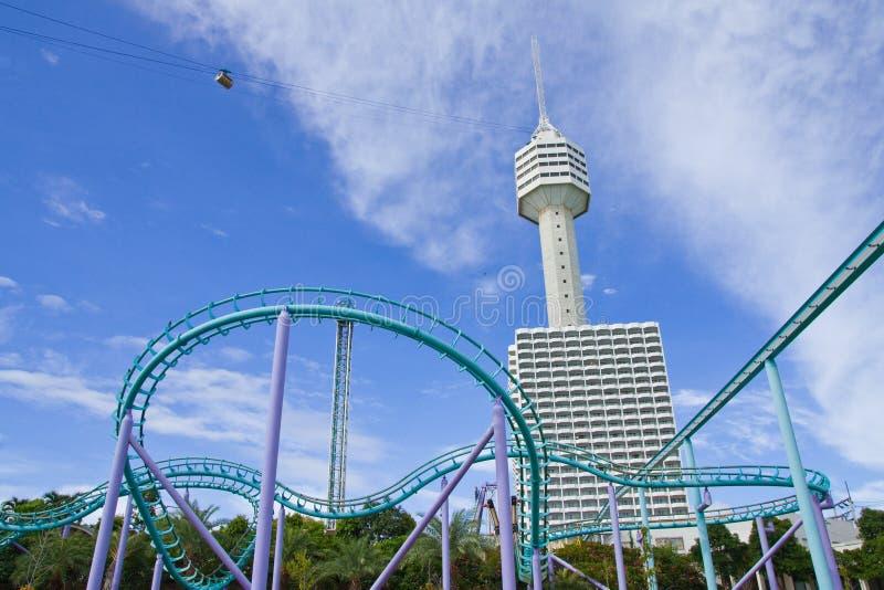 Abenteuerspiel in Pattaya, Thailand lizenzfreies stockbild