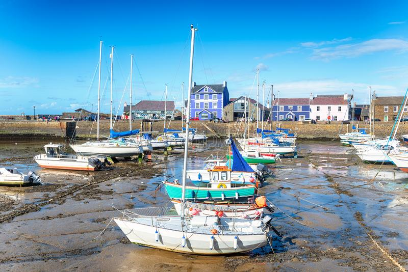 Aberaeron au Pays de Galles images stock