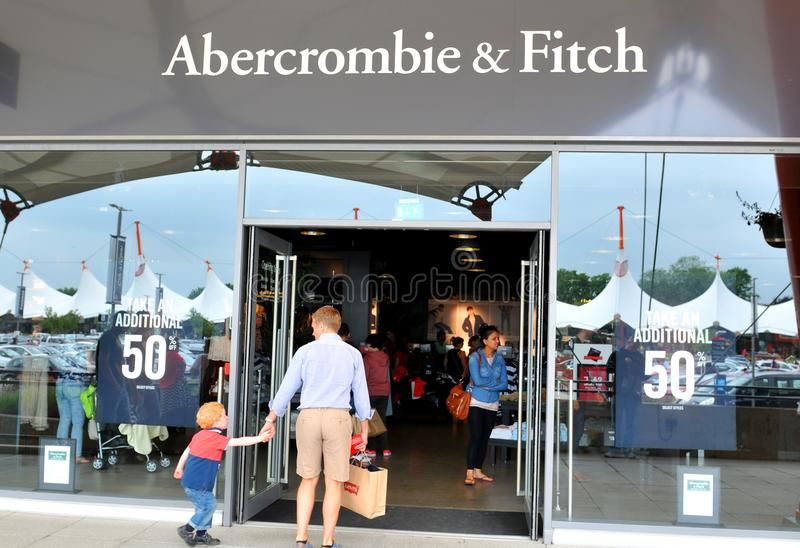 Abercrombie et Fitch images stock