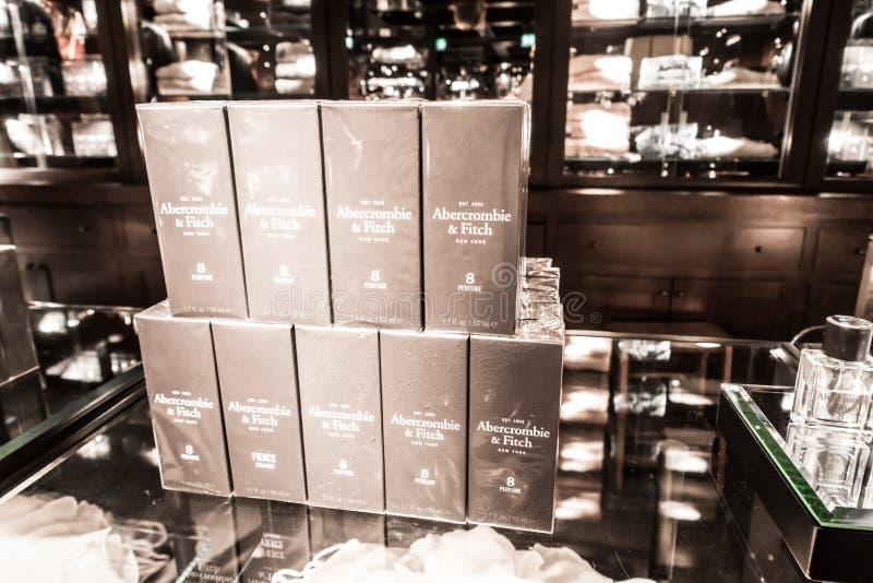 Abercrombie & Fitch-parfum royalty-vrije stock afbeeldingen